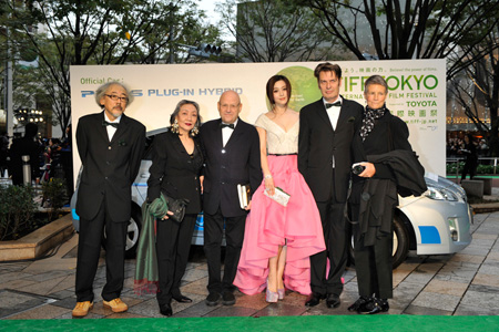 Walking The Green Carpet