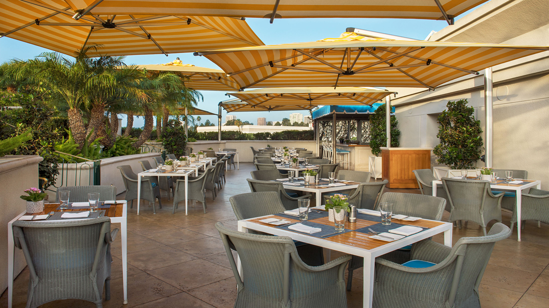 The Roof Garden - Rooftop Restaurant | The Peninsula Beverly Hills