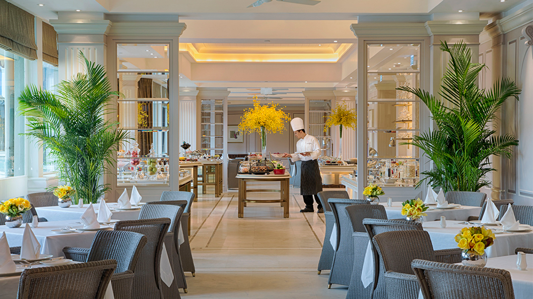 The Verandah Buffet The Peninsula Hong Kong Adorable Veranda Dining Rooms Concept