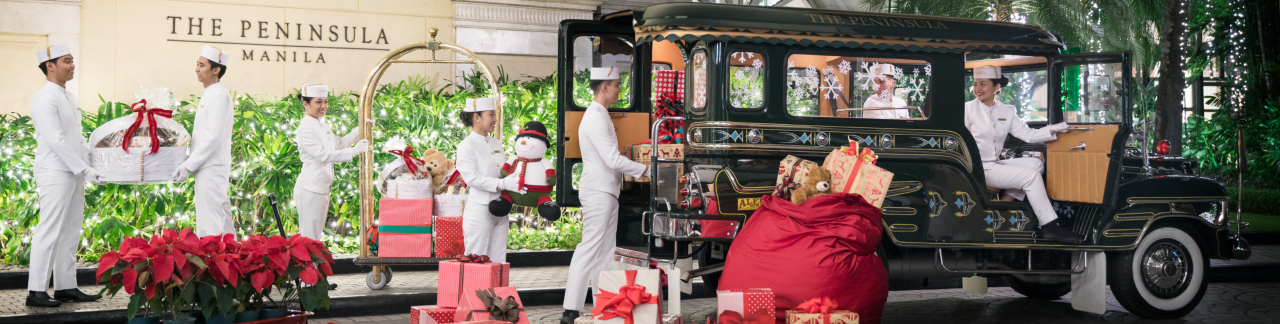 Christmas Jeepney.Stories From The Tree The Peninsula Manila