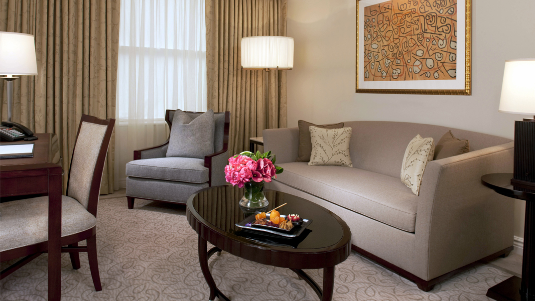 Executive Suite Living Room New York