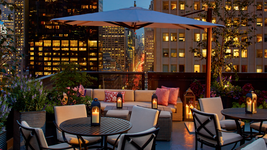Salon De Ning Nyc Rooftop Bar Midtown The Peninsula New York