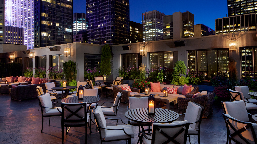 Salon de Ning: NYC Rooftop Bar Midtown | The Peninsula New York