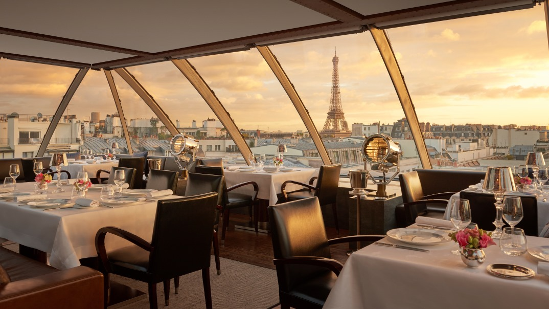 L Oiseau Blanc Paris Rooftop Restaurant Bar French Dining