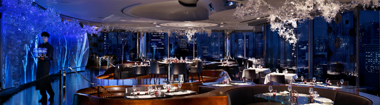 Exquisite dining from authentic Cantonese specialties to delectable grilled fare with views of the skyline.