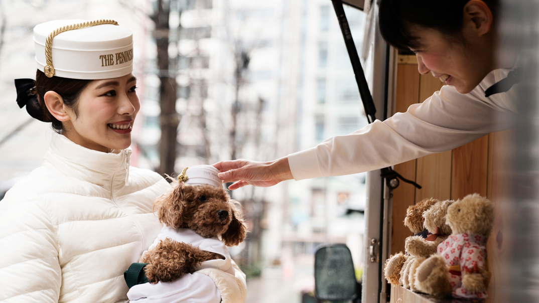 Dog Program at The Peninsula Tokyo