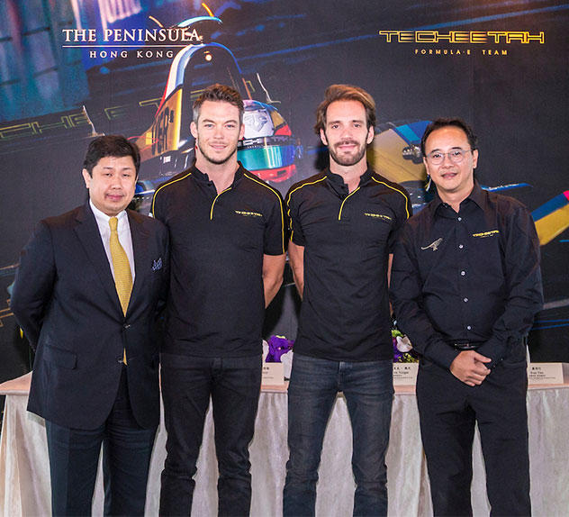 TECHEETAH and The Peninsula Hong Kong Press Conference