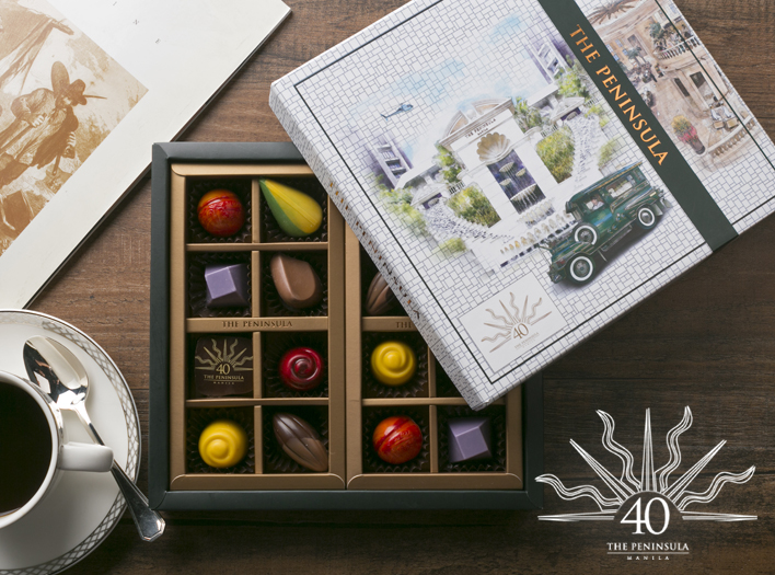 Peninsula Manila Offers Dining Boutique 40th Anniversary Chocolates