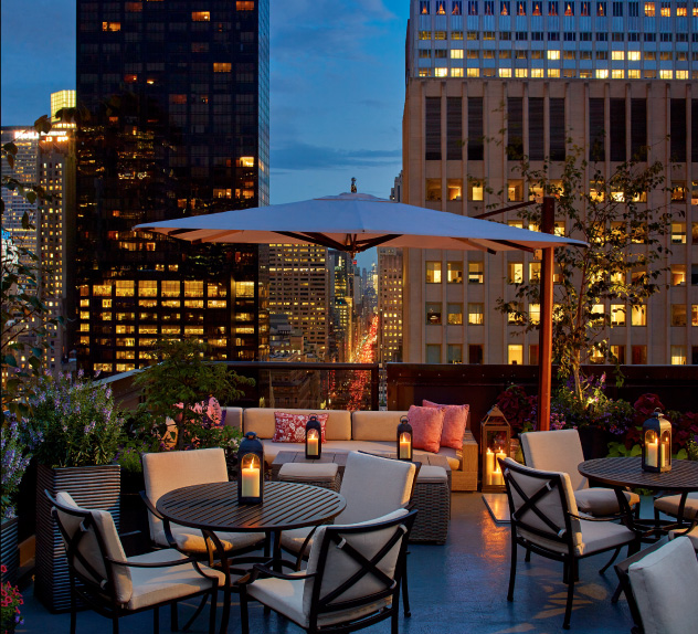 Peninsula New York Best Rooftop Fifth Avenue NYC
