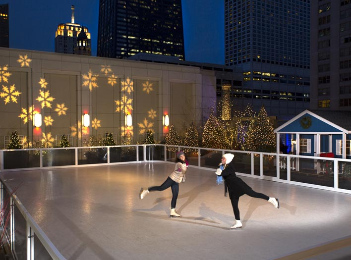 Sky Rink at The Peninsula Chicago