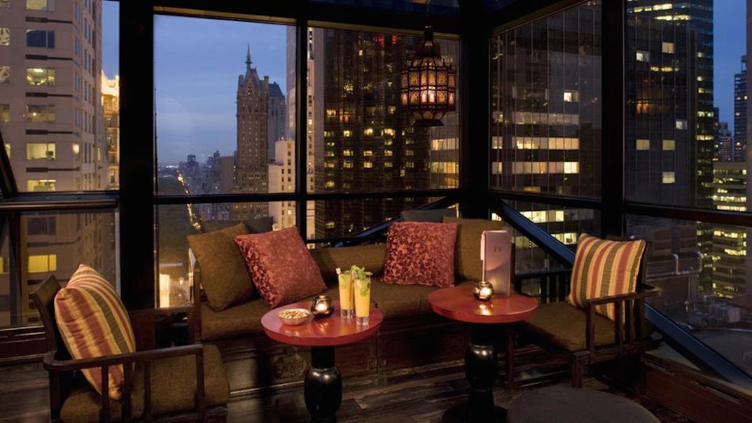Romantic Rooftop Bar NYC