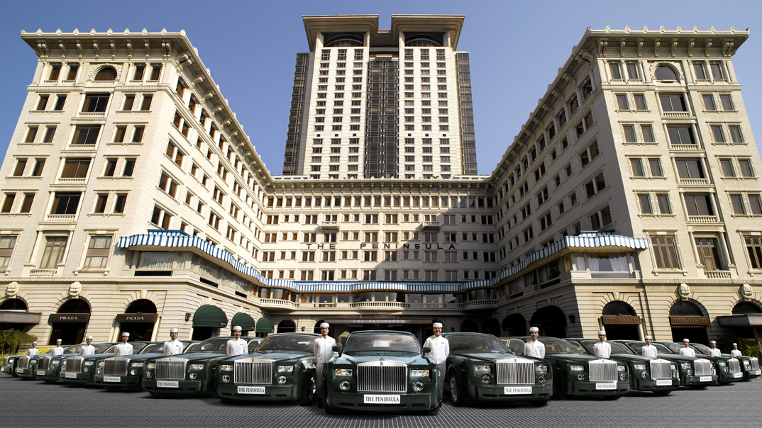 The Peninsula Rolls Royce fleet