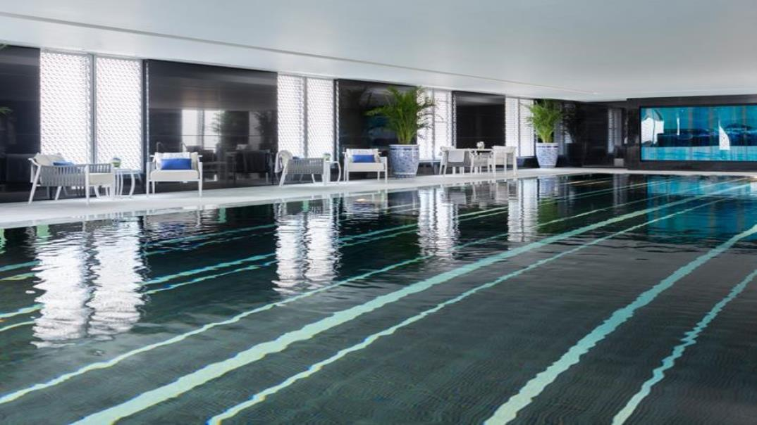 The Peninsula Beijing swimming pool