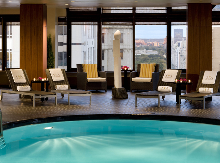 The Peninsula New York swimming pool