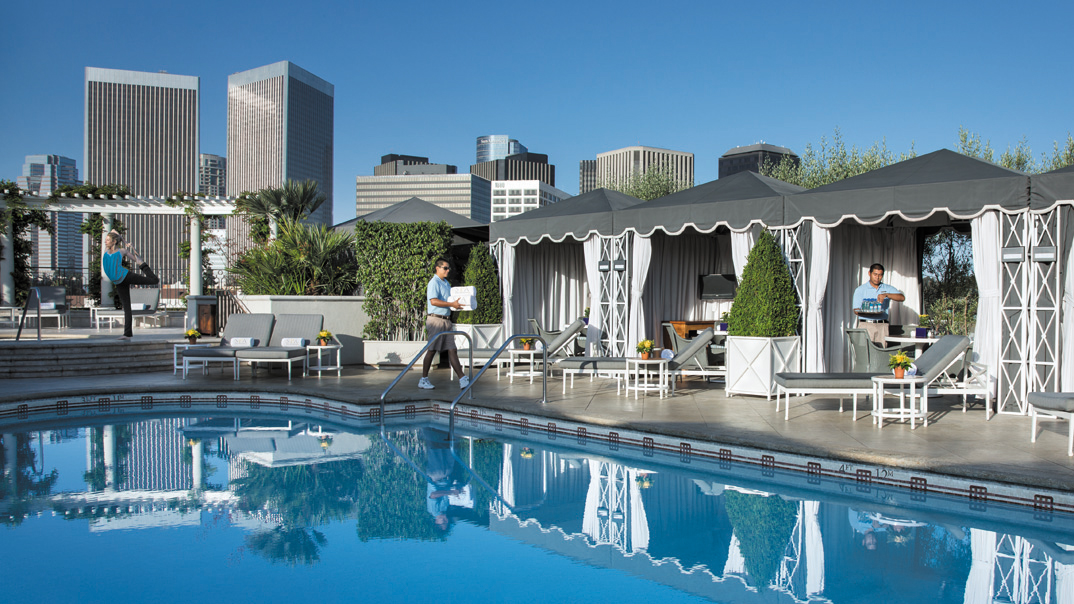 Private Cabanas at the Rooftop Pool
