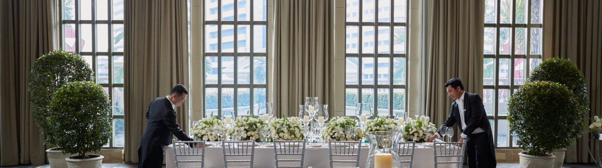 The Peninsula Manila Events Weddings at The Pen The Conservatory