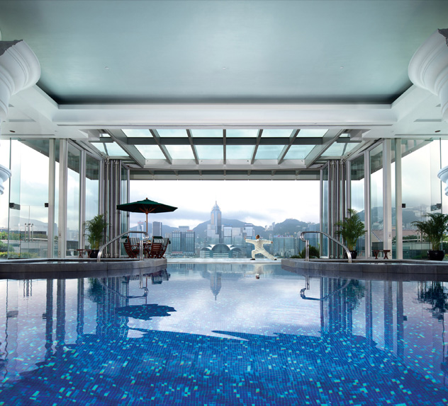 The Peninsula Hong Kong Swimming Pool