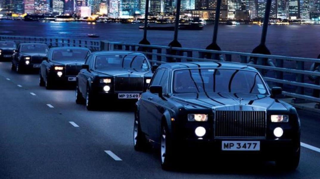 The Peninsula Hong Kong Rolls Royce fleet