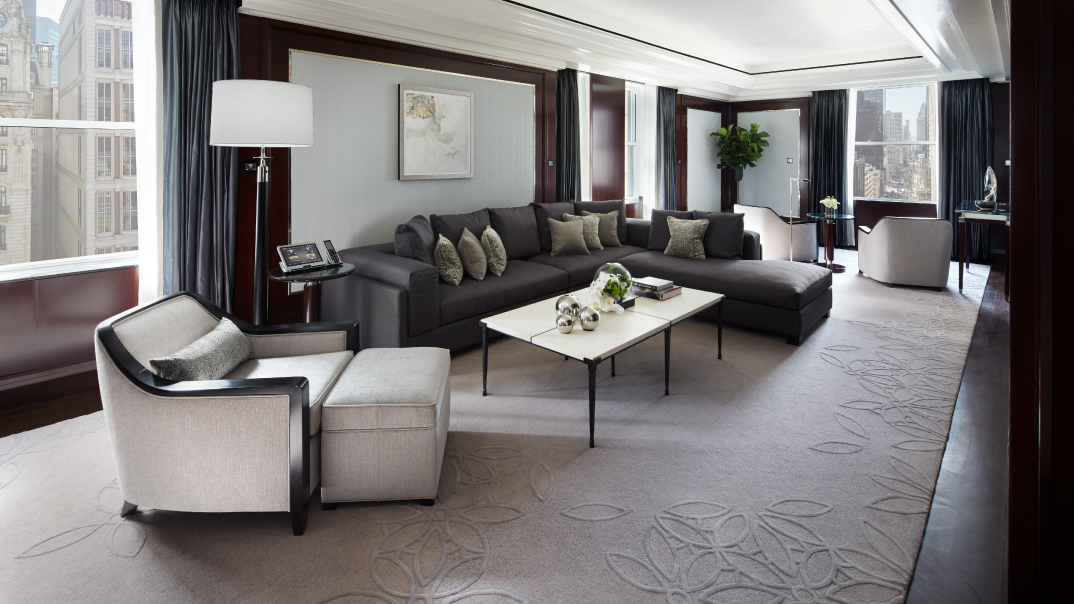 The Peninsula New York Stylish Fifth Avenue Suite NYC