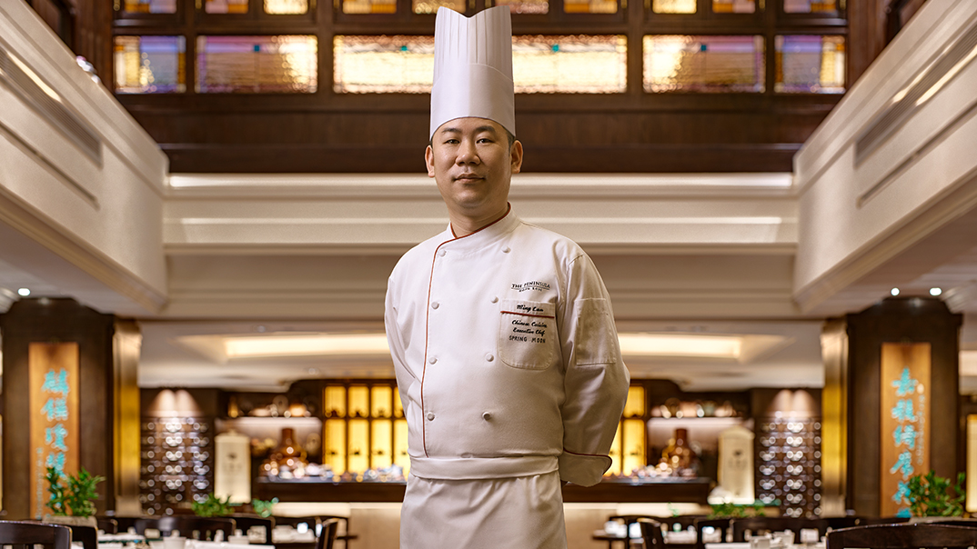 The Peninsula Spring Moon Chef Gordon Leung